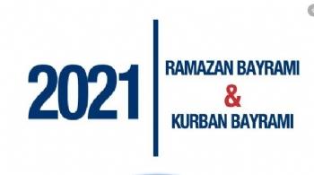 2021 Resmi Tatiller, 2021 Kurban Bayramı Ne Zaman, 2021 Ramazan Bayramı Ne Zaman