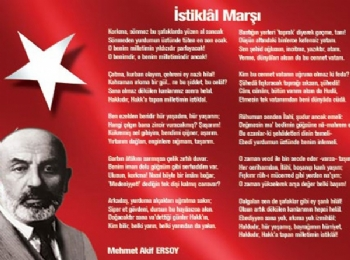 İstiklâl Marşı, İstiklâl Marşı Mehmet Âkif Ersoy