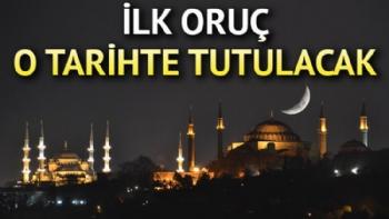 Ramazan Ne Zaman Başlıyor, İlk Oruç Hangi Tarihte, İlk Oruç Ne Zaman