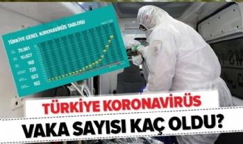 Türkiye Genel Koronavirüs Tablosu, Turkiye Gunluk Koronavirus Tablosu