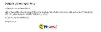 ePttAVM Maske, Ptt Amv Maskei Bedava Maske, Bedava Maske Nasıl Alınır