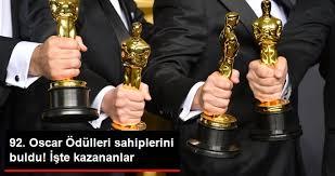 92.Oscar Ödülleri, 92.Oscar Ödülleri Kazananlarının Tam Listesi
