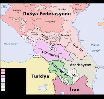 Kafkasya Ülkeleri, Kafkasya Nerede, Kafkasya Neresi