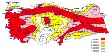Batı Anadolu Deprem Fay Hattı, Türkiye Deprem Fay Hatları
