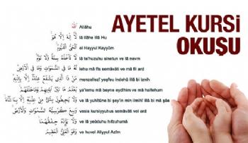 Ayetel Kürsi Duası, Ayetel Kürsi Anlamı, Okunuşu ve Tefsiri